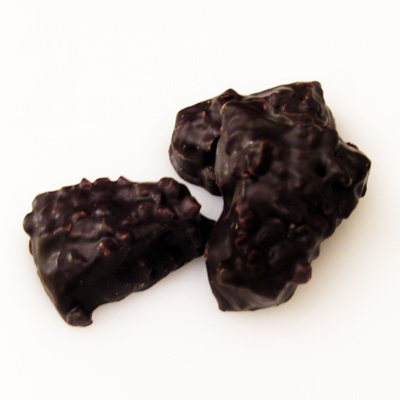 Mandelspitzkuchen mit Schokolade
