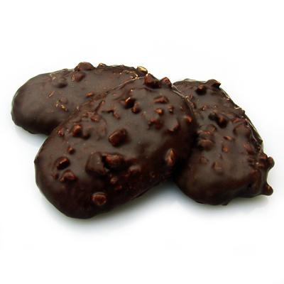 Nusshonigprinten mit Schokolade