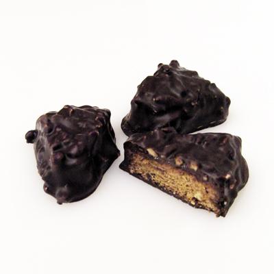 Nuss-Spitzkuchen mit Schokolade