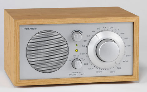 Tivoli Radio Model One kirsche/silber