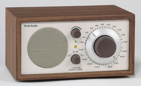 Tivoli Radio Model One walnuss/beige
