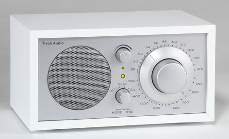 Tivoli Radio Model One weiß/silber