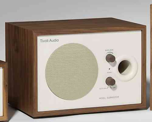 Tivoli Model Subwoofer walnuss/beige