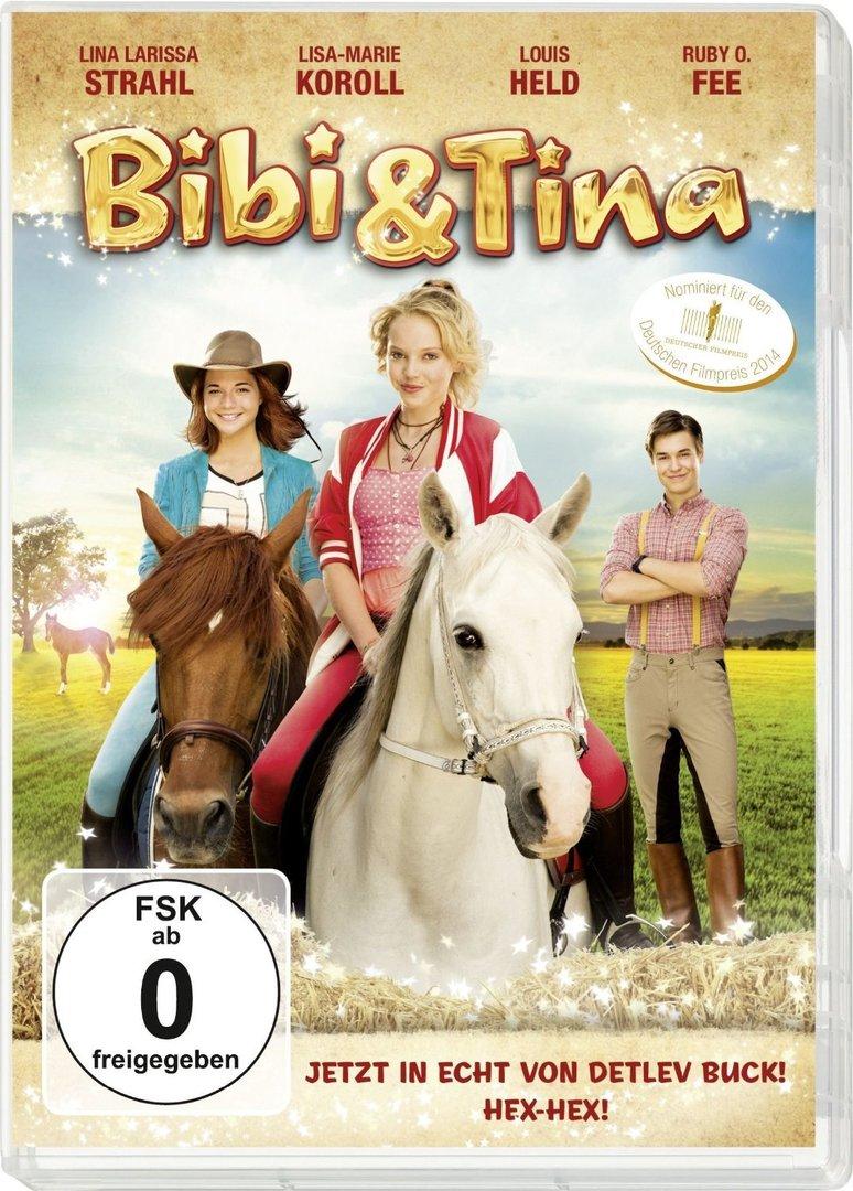 bibi und tina - der film (dvd) - kinderbuch, kinderbücher
