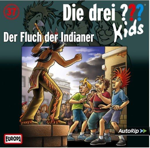 die drei  kids  der fluch der indianer folge 37  cd