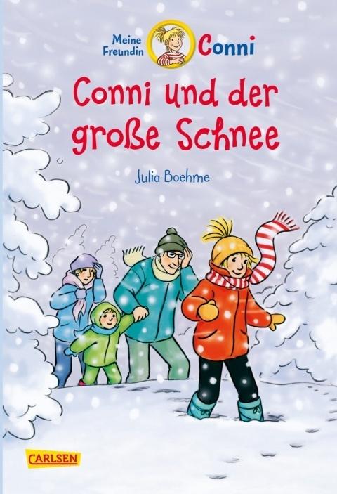 conni und der große schnee  buch   kinderbuch