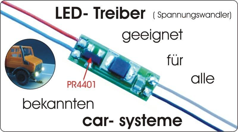 Spannungswandler für eine LED