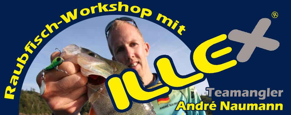Raubfisch Workshop mit André Naumann