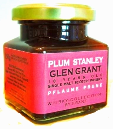 Whisky Collection - Pflaume mit Glen Grant 10 years