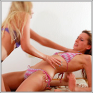 Bikini Catfight – Marta vs Olga – HD