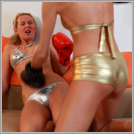 Apartment Boxing - Olga vs Inga – HD