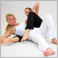 White vs Black wrestling - Olga vs Marta - HD