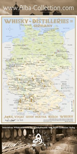 Whisky Distilleries Germany - RollUP 200x100cm