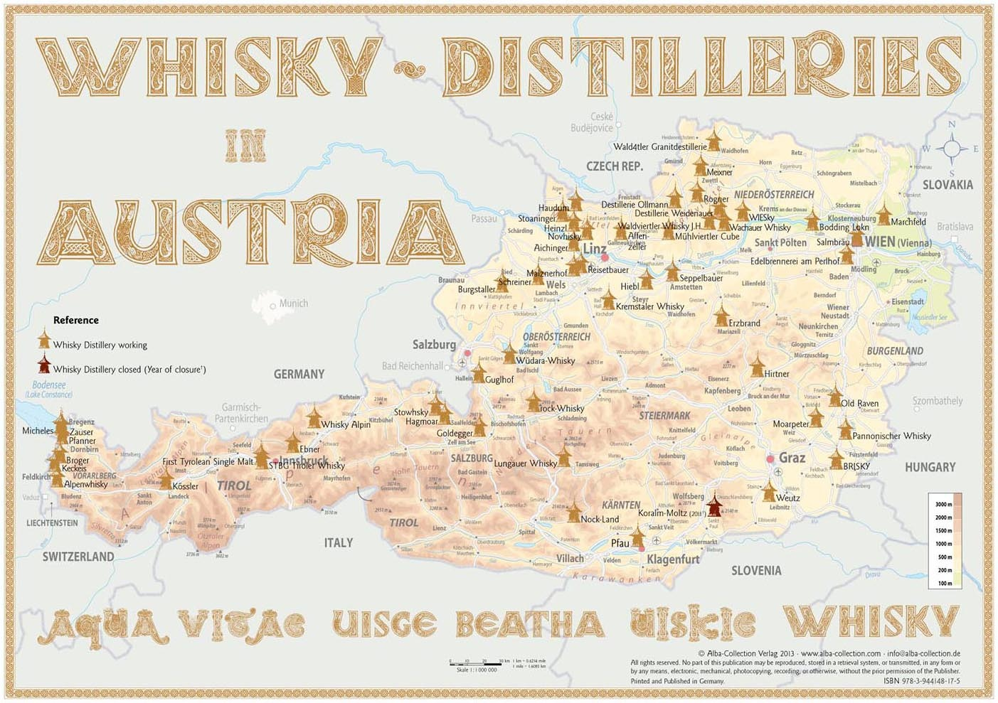 Whisky Distilleries Austria
