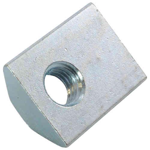 Typ I Stahl verzinkt Federkugel 10x Nutenstein schwer Nut 8 M8 mit Steg