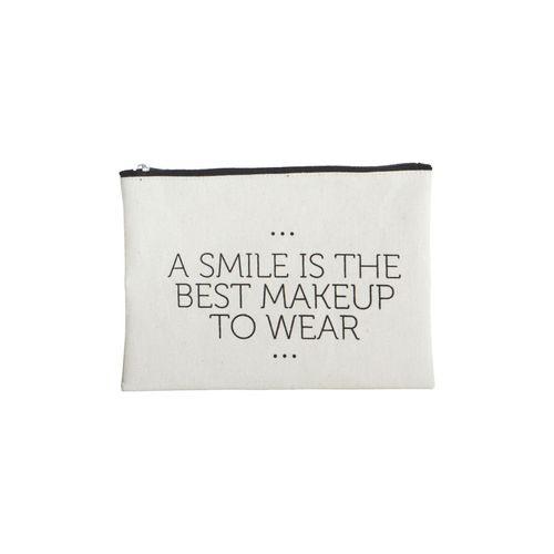 House Doctor Make up Bag Smile