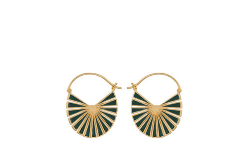Pernille Corydon Flat Earrings