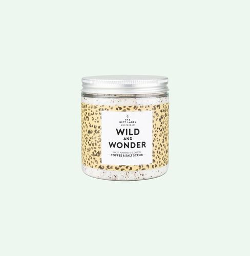 The Gift Label Body Scrub Wonder