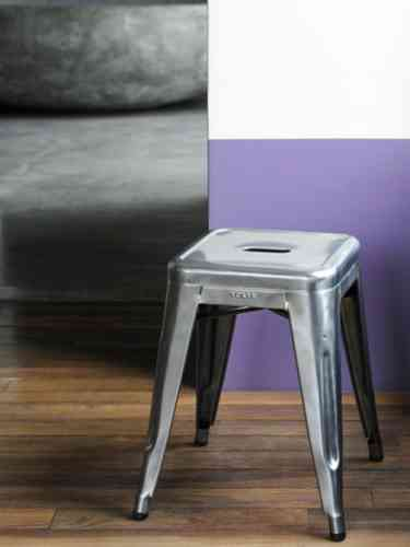 Metall-Hocker 45