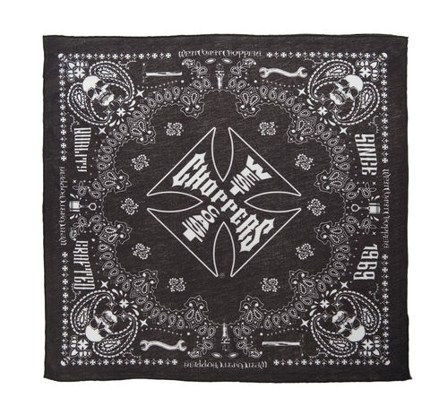 Bandana Handcrafted black