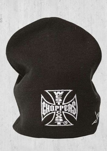 Iron Cross Basis Black Beanie