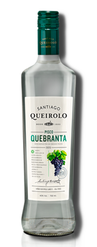Pisco Quebranta Queirolo 42% 700ml