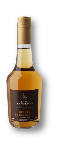 "Brandy ""Don Santiago"" aus Quebranta 43% 500ml"