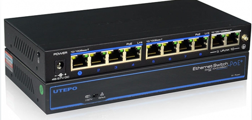 Utepo - UTP3-SW08-TP120-A1 - Switch - 8 PoE