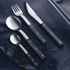 Cutlery set, 4 pcs., table knife with short blade