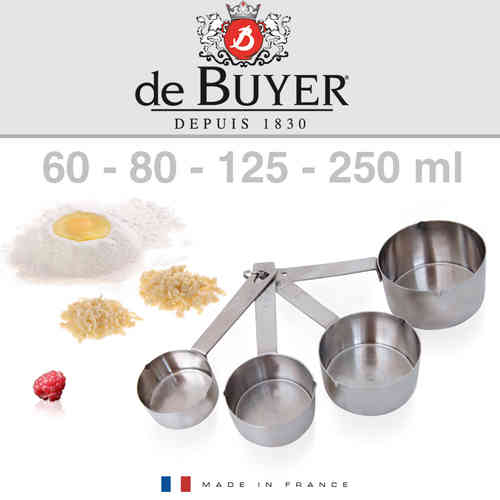 de Buyer - 4 kleine Messbecher