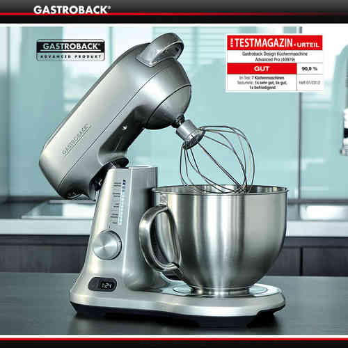 Gastroback - Design Stand Mixer Advaced Pro