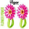 Vigar - Hook Set Flower Power 2-pc. Pink