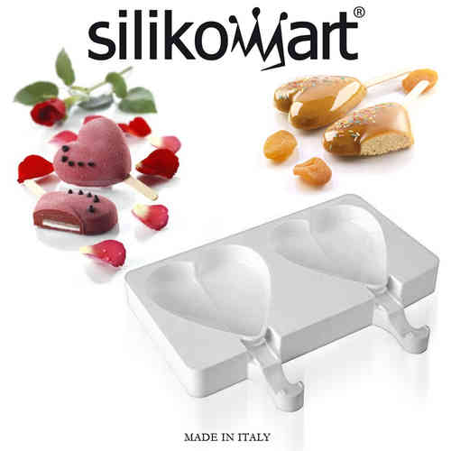 Silikomart - Ice shape heart