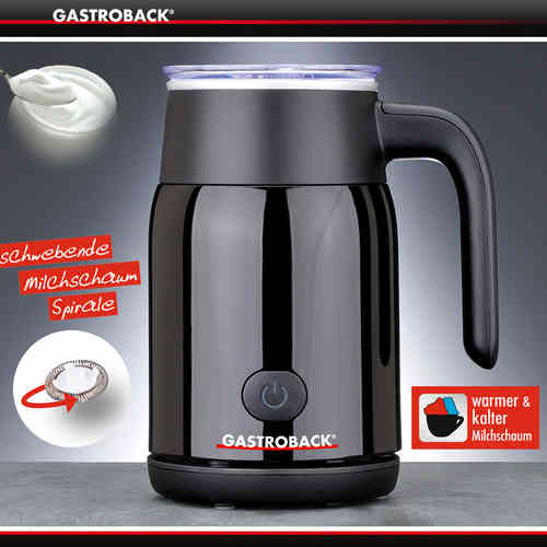 Gastroback - Latte Magic - Schwarz