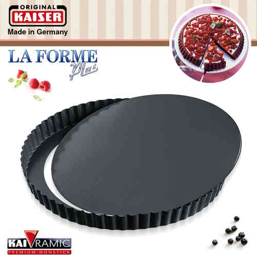 Kaiser  - La Forme Plus - Quiche pan 28 cm