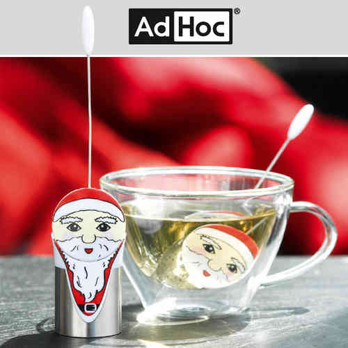 ADHOC - Tee Filter SANTA - TEA & HIS FRIENDS