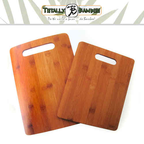 Totally Bamboo - 2er-Set Schneidbretter