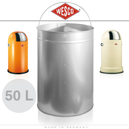 Wesco - Einsatz 50 Liter Metall - Pushboy