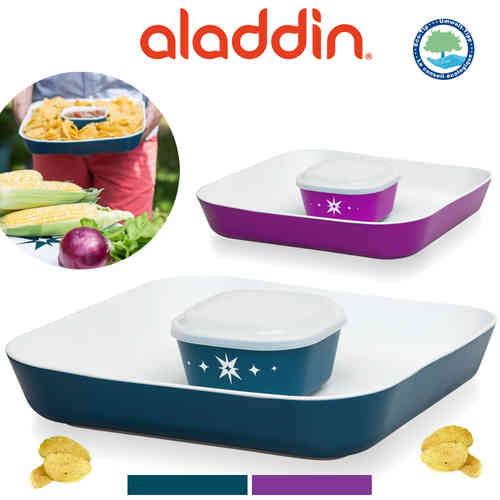 aladdin - 3-teiliges Chip & Dip Set
