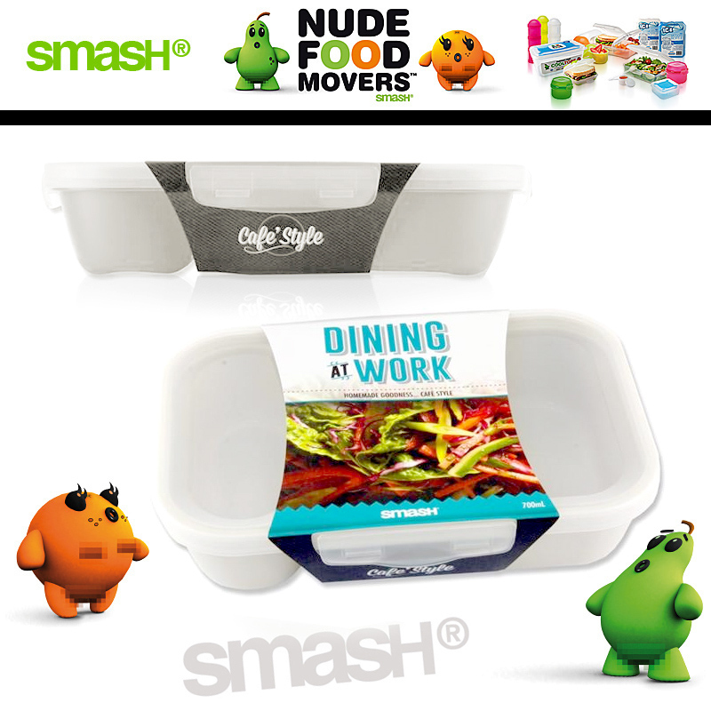 Smash - Nude Food Movers - Lunchbox Weiß