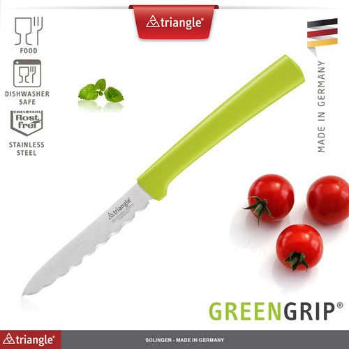 Triangle® - Tomatenmesser - GreenGrip