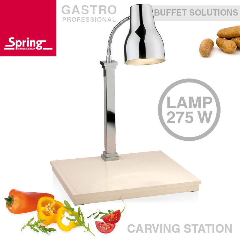 Spring - Carving Station with bottom heat and one lamp