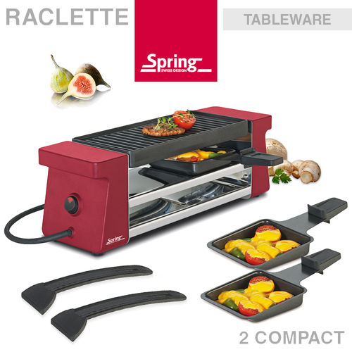 Spring - Raclette 2 Compact - Red