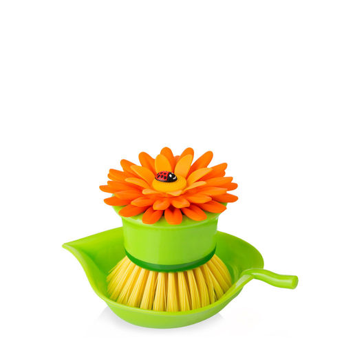 Vigar - Topfbürste Blume - orange