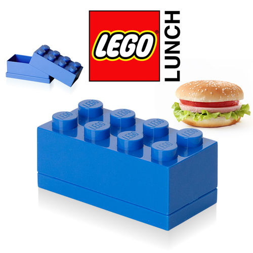LEGO - Mini Box 8 - Blue