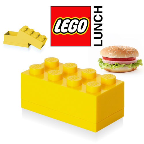 LEGO - Mini Box 8 - Yellow