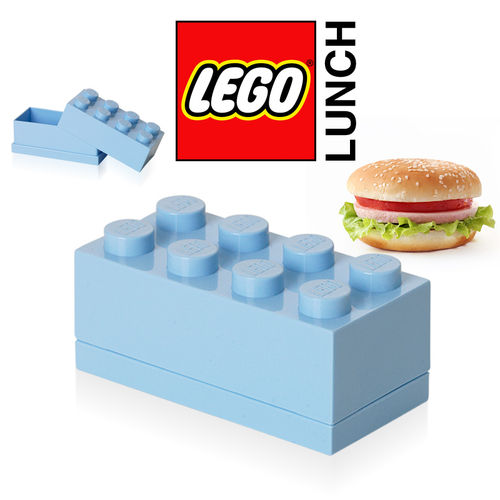 LEGO - Mini Box 8 - Light Blue