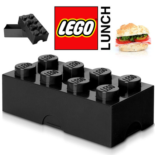 LEGO - Lunch Box - Black