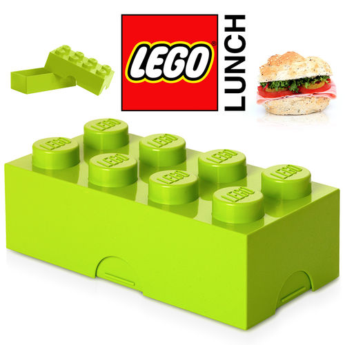 LEGO - Lunch Box - Light Green