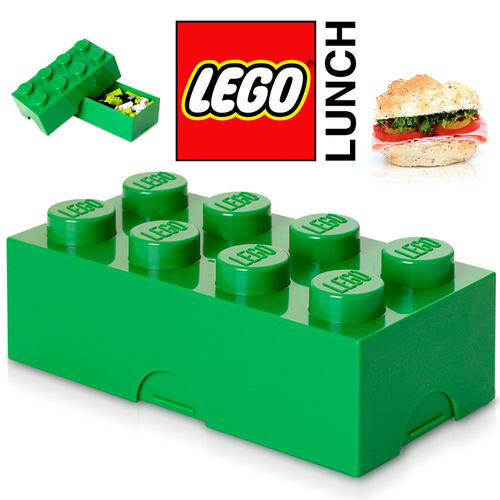LEGO - Lunch Box - Green